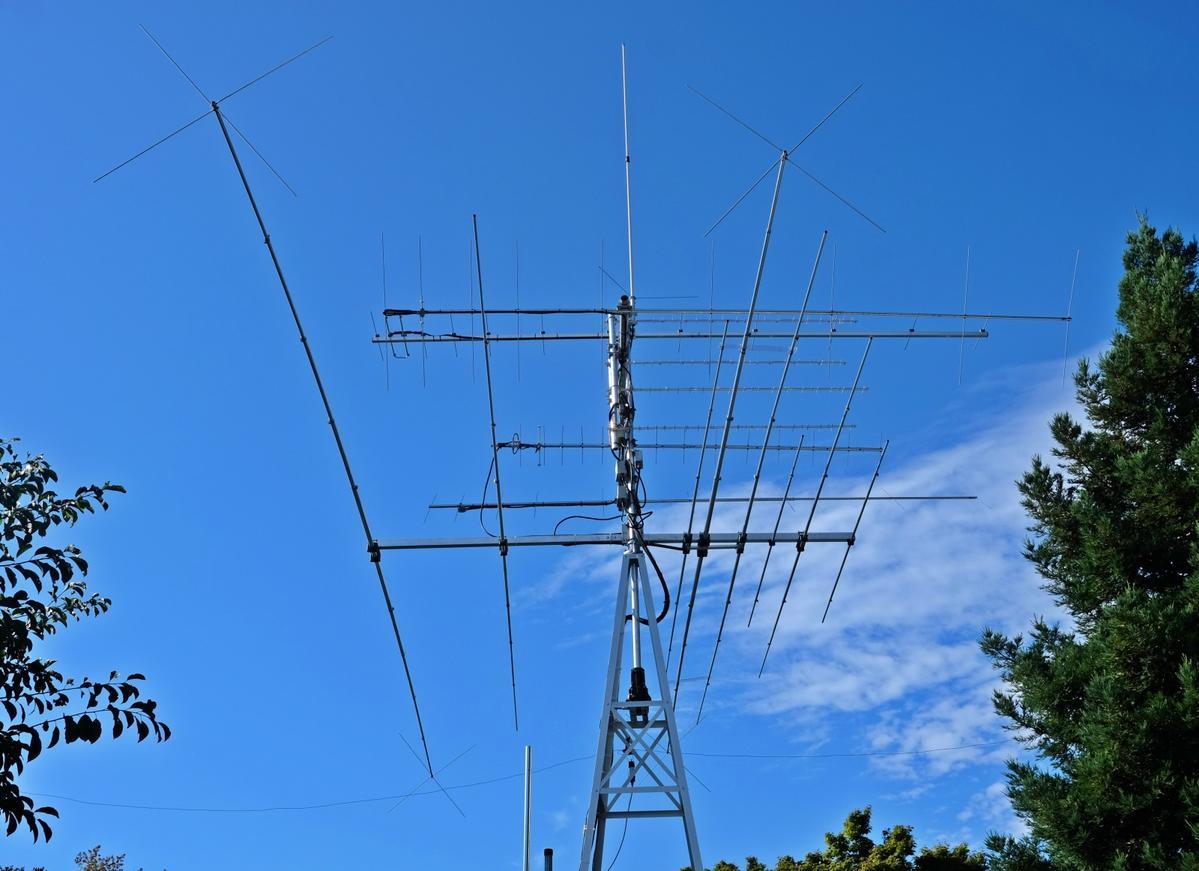 XR4C HF 4band antenna 1600