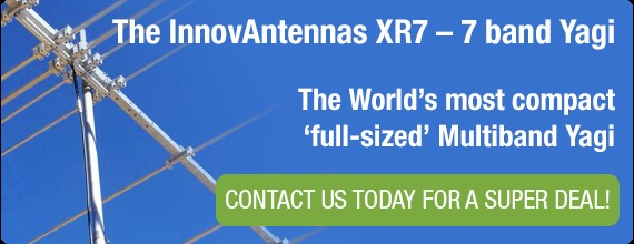 InnovAntennas XR6 - 6 Band Yagi